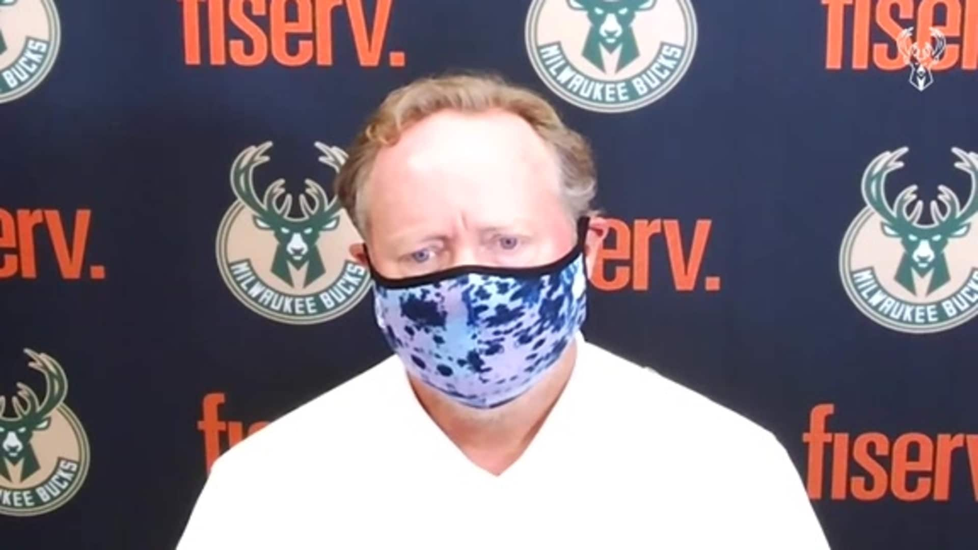 Coach Budenholzer Press Conference | 8.10.20