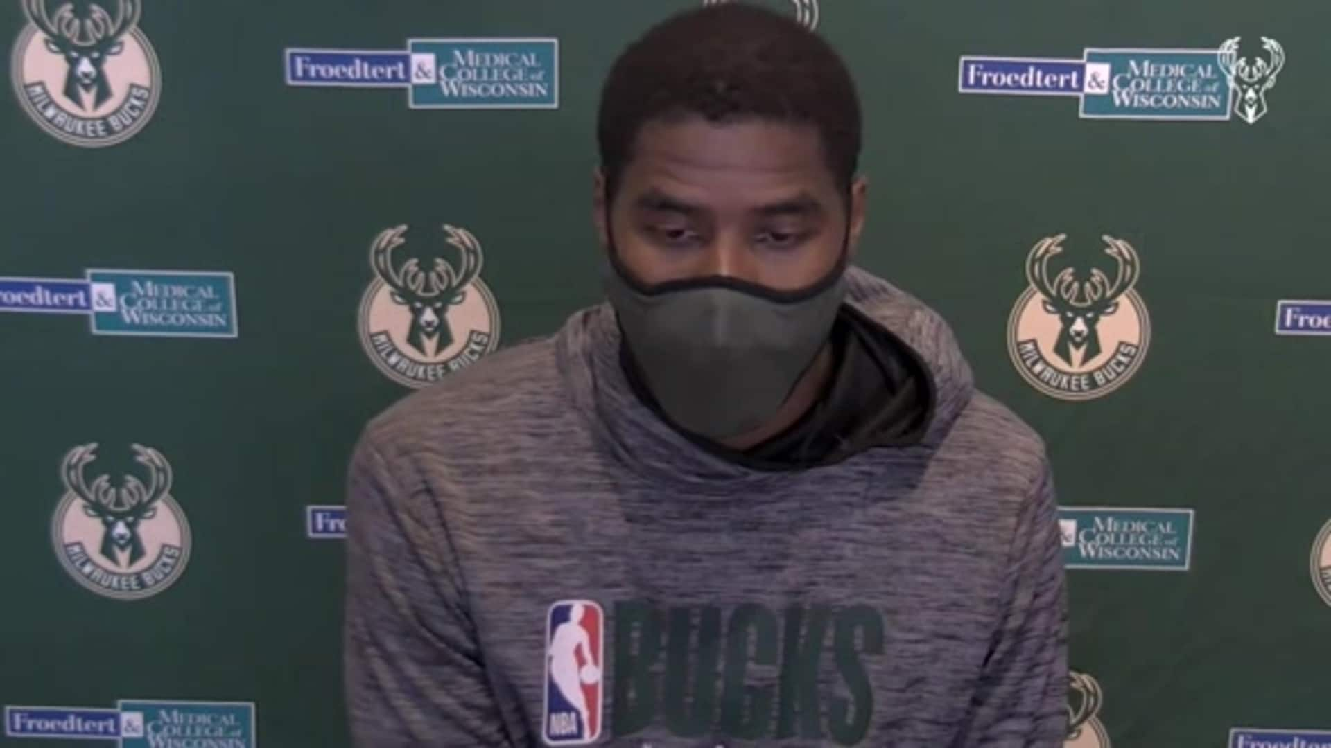 Marvin Williams Press Conference   8.30.20