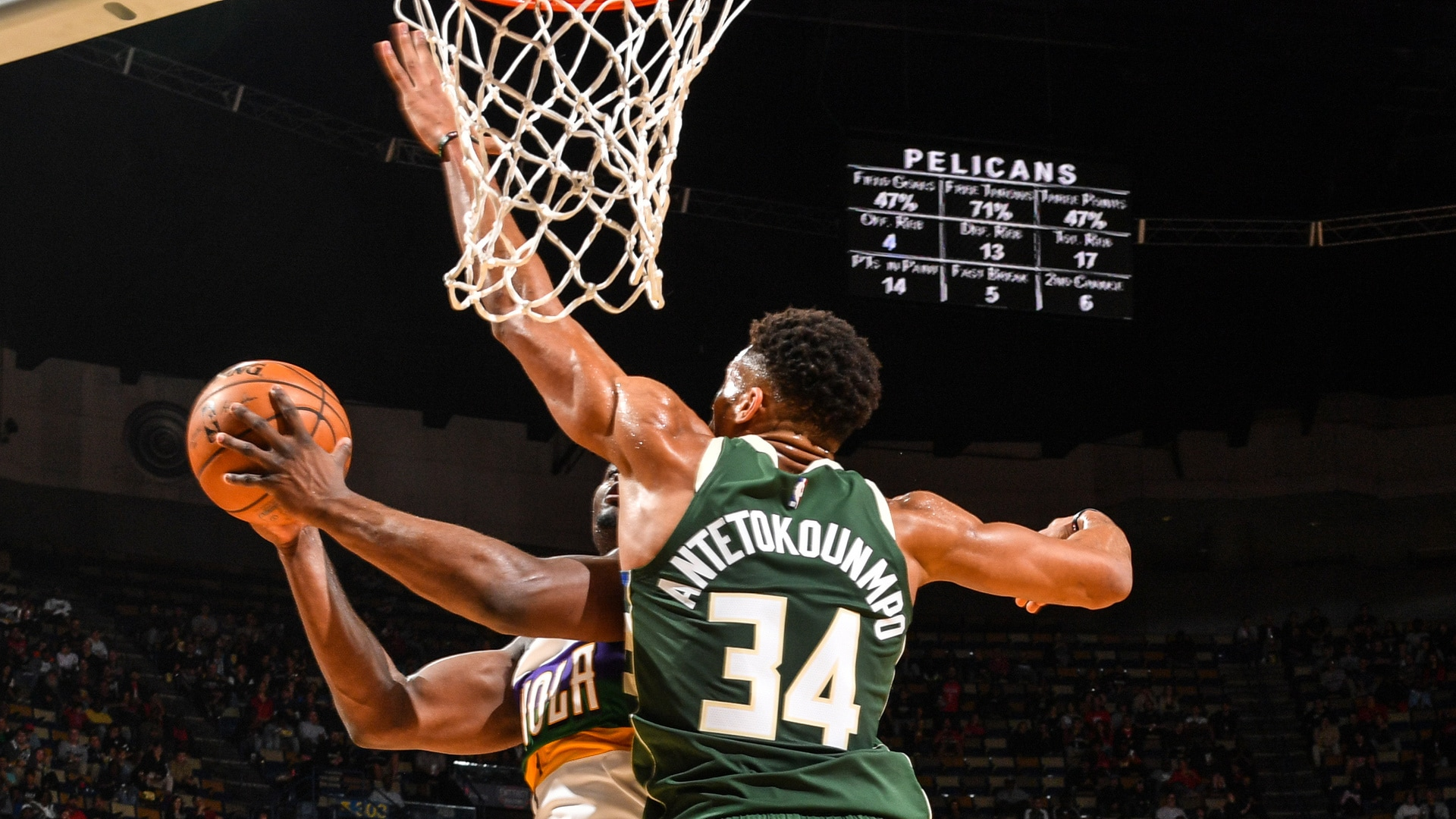 Milwaukee Bucks Top 10 Blocks: 2019-20