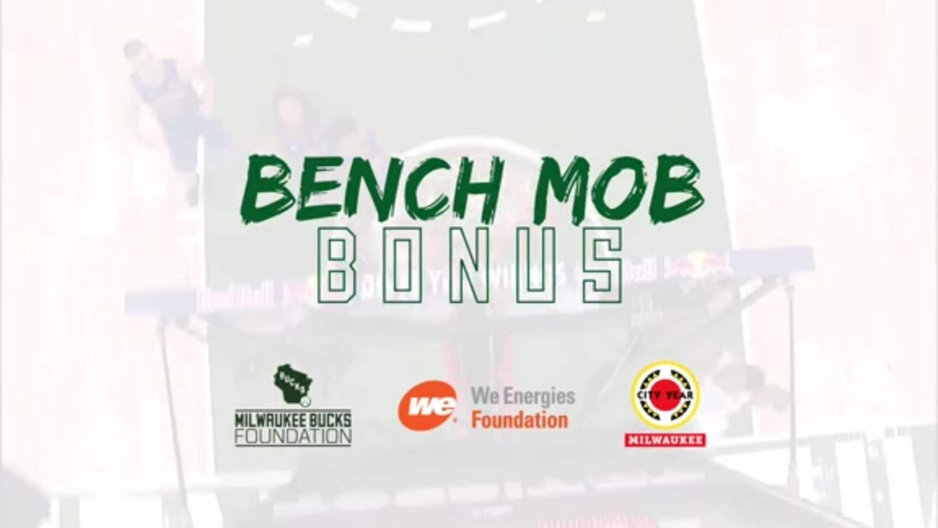 Bench Mob Bonus Gives Back To Milwaukee