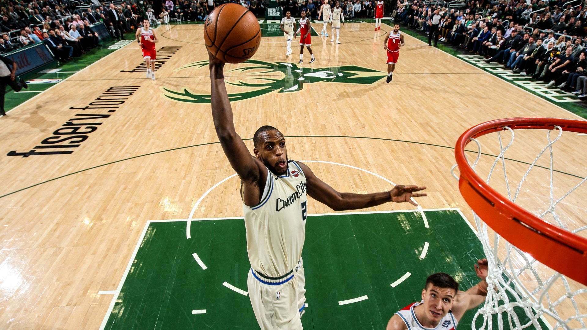 Khris Middleton Top 5 Plays Of 2019-20