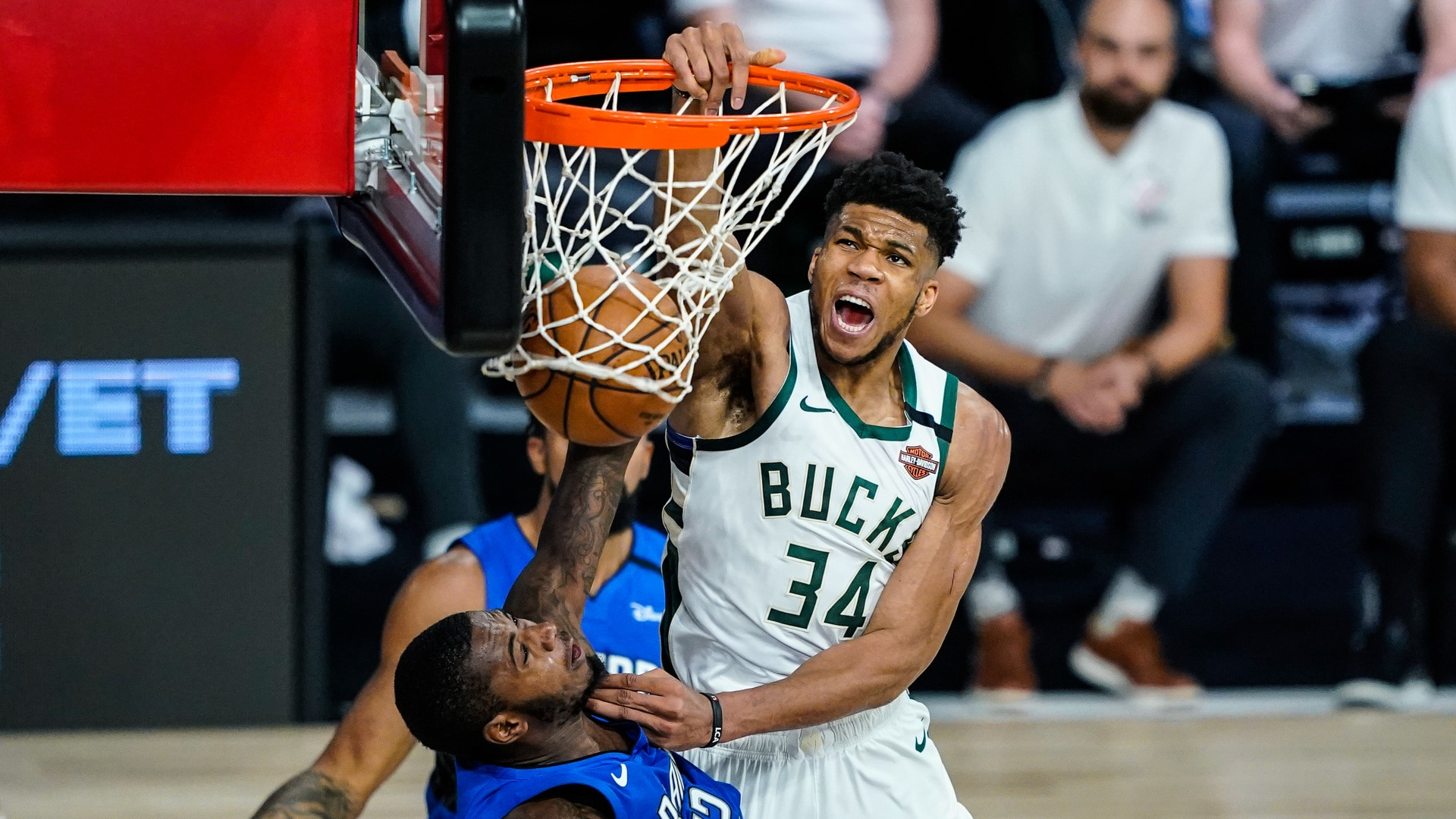 Giannis Antetokounmpo Top Five Plays of 2019-20