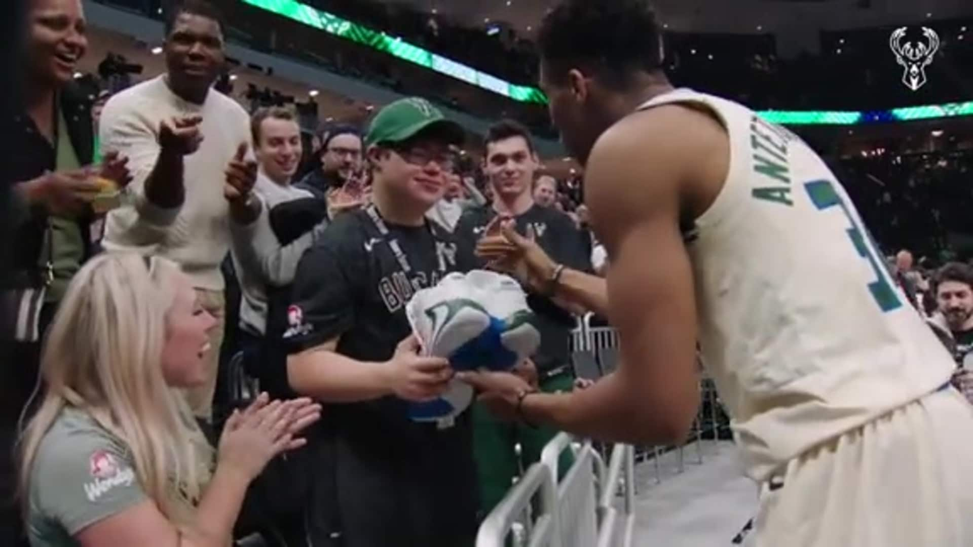 Giannis Antetokounmpo's Top 5 Off-Court Moments 2019-20