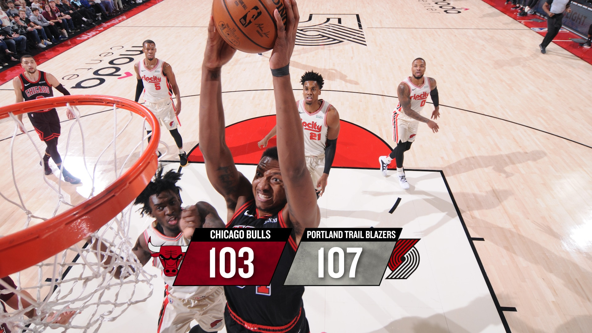 BullsTV Recap: Trail Blazers 107, Bulls 103 - 11.29.19
