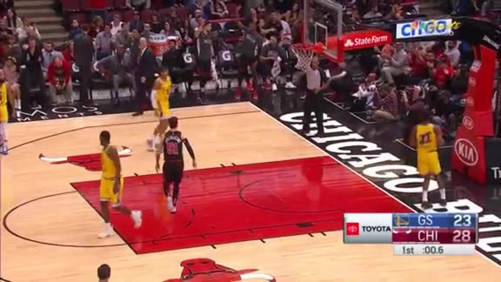 Coby with the catch-and-shoot three