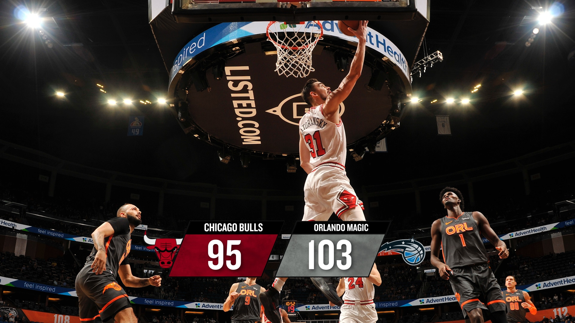 BullsTV Recap: Bulls 95, Magic 103 - 12.23.19
