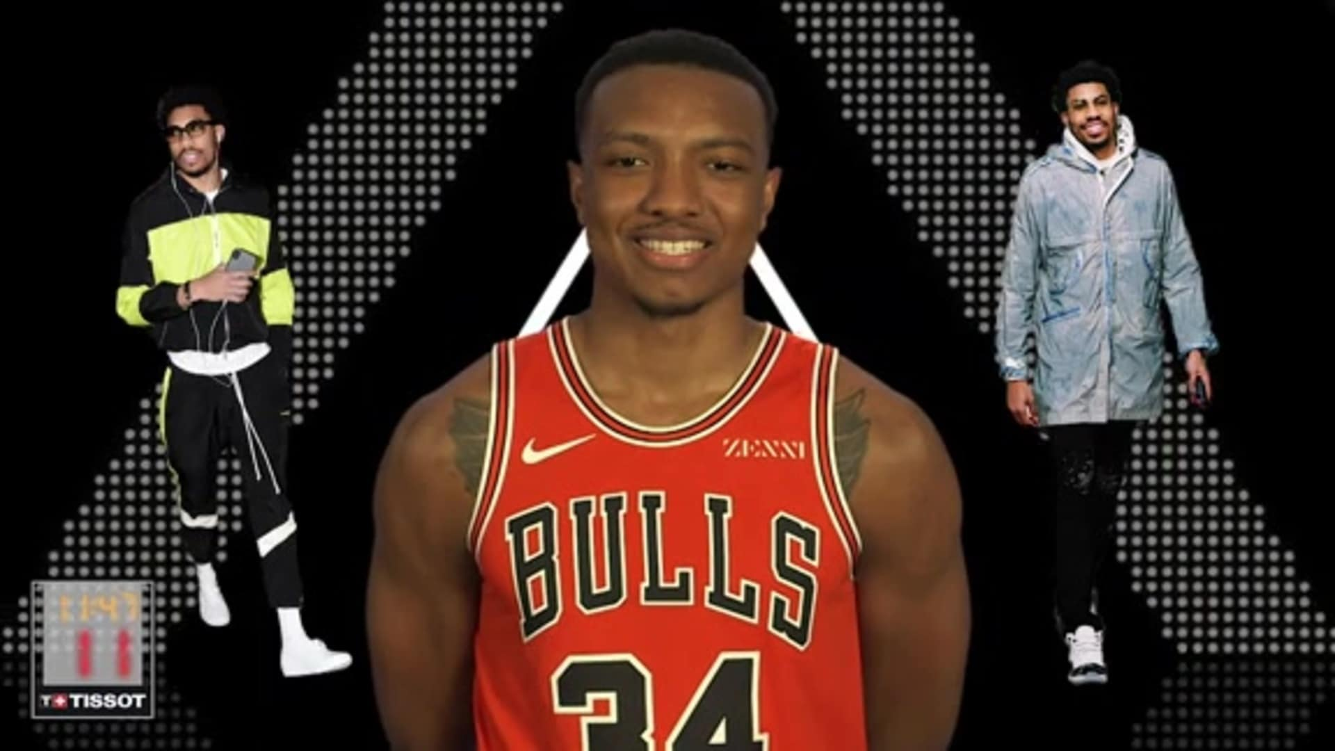 Wendell Carter Jr. - Style In :24 with Tissot