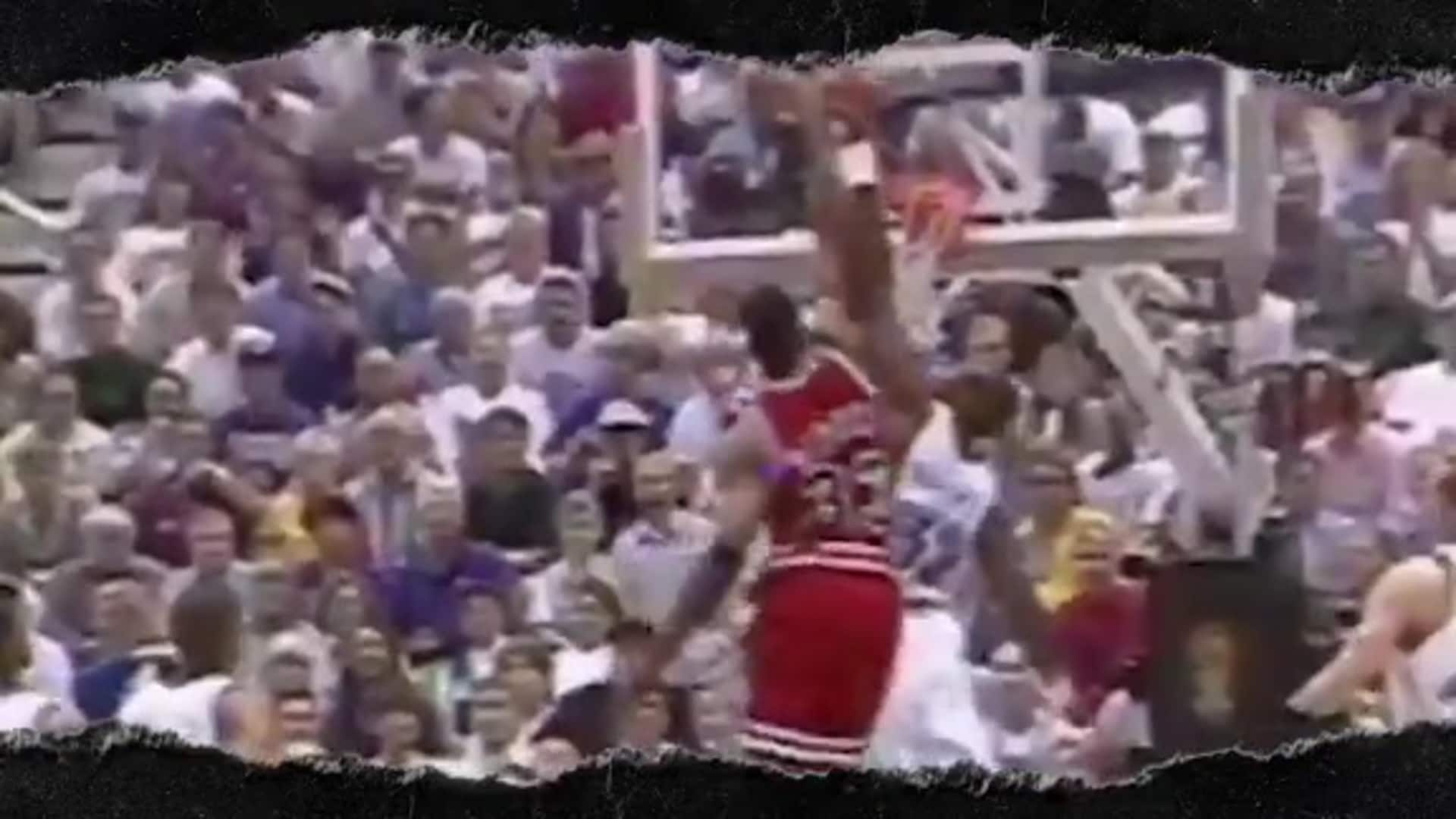 All-Time Dunk Bracket: #2 Pippen dunk on Karl Malone (1997 finals)