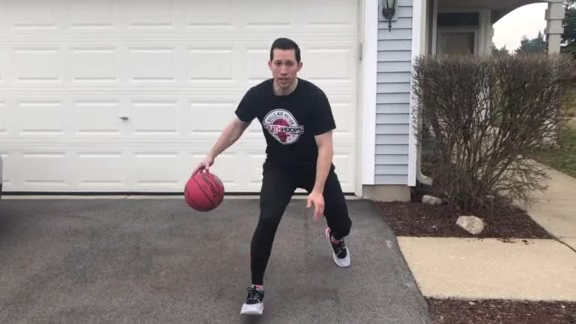 Youth Hoops Basketball Skills At Home: Between The Legs