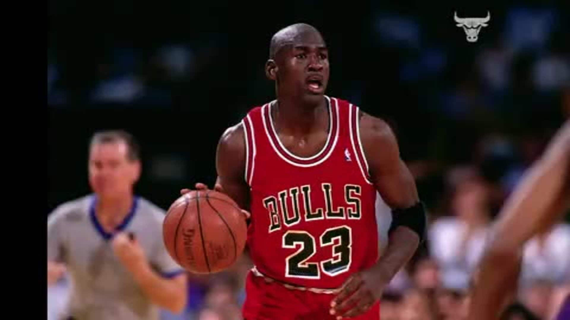 Bulls sweep the Pistons in the 1991 Eastern Conference Finals