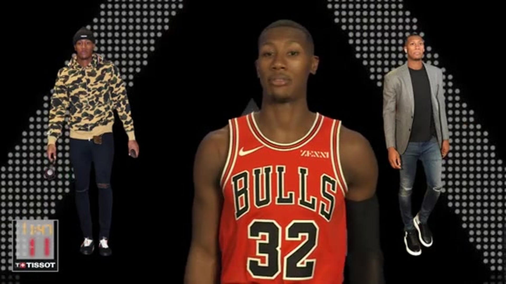 Kris Dunn - Style In :24 with Tissot