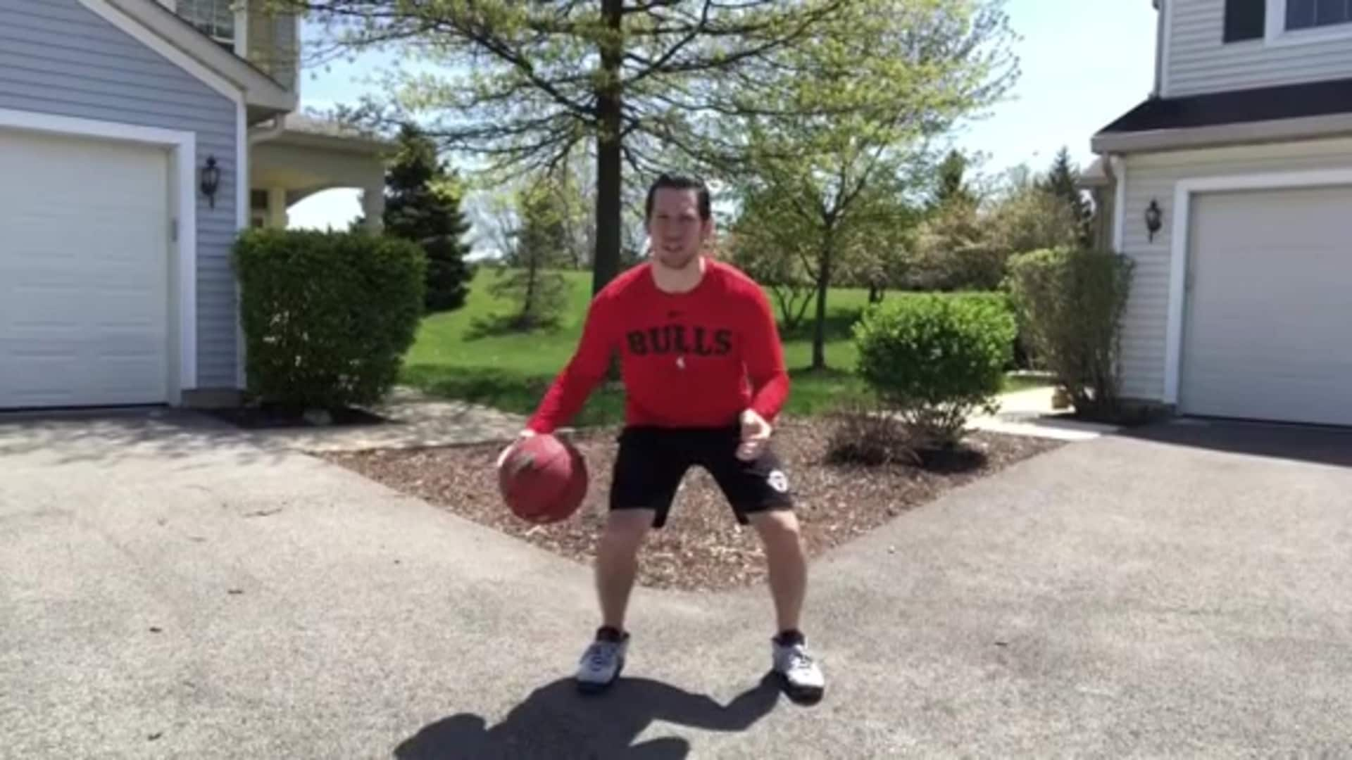 Youth Hoops Basketball Skills At Home: In-Out Crossover