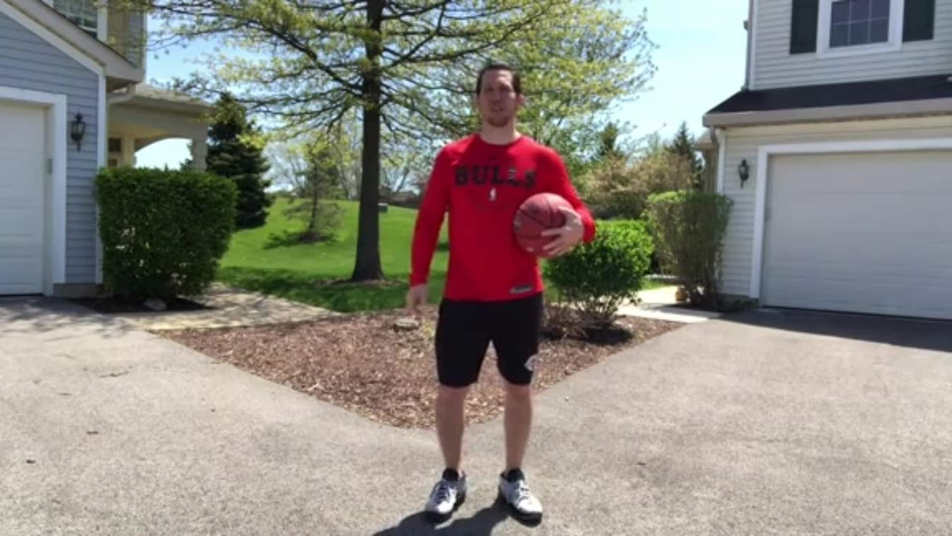 Youth Hoops Basketball Skills At Home: Combo Workout