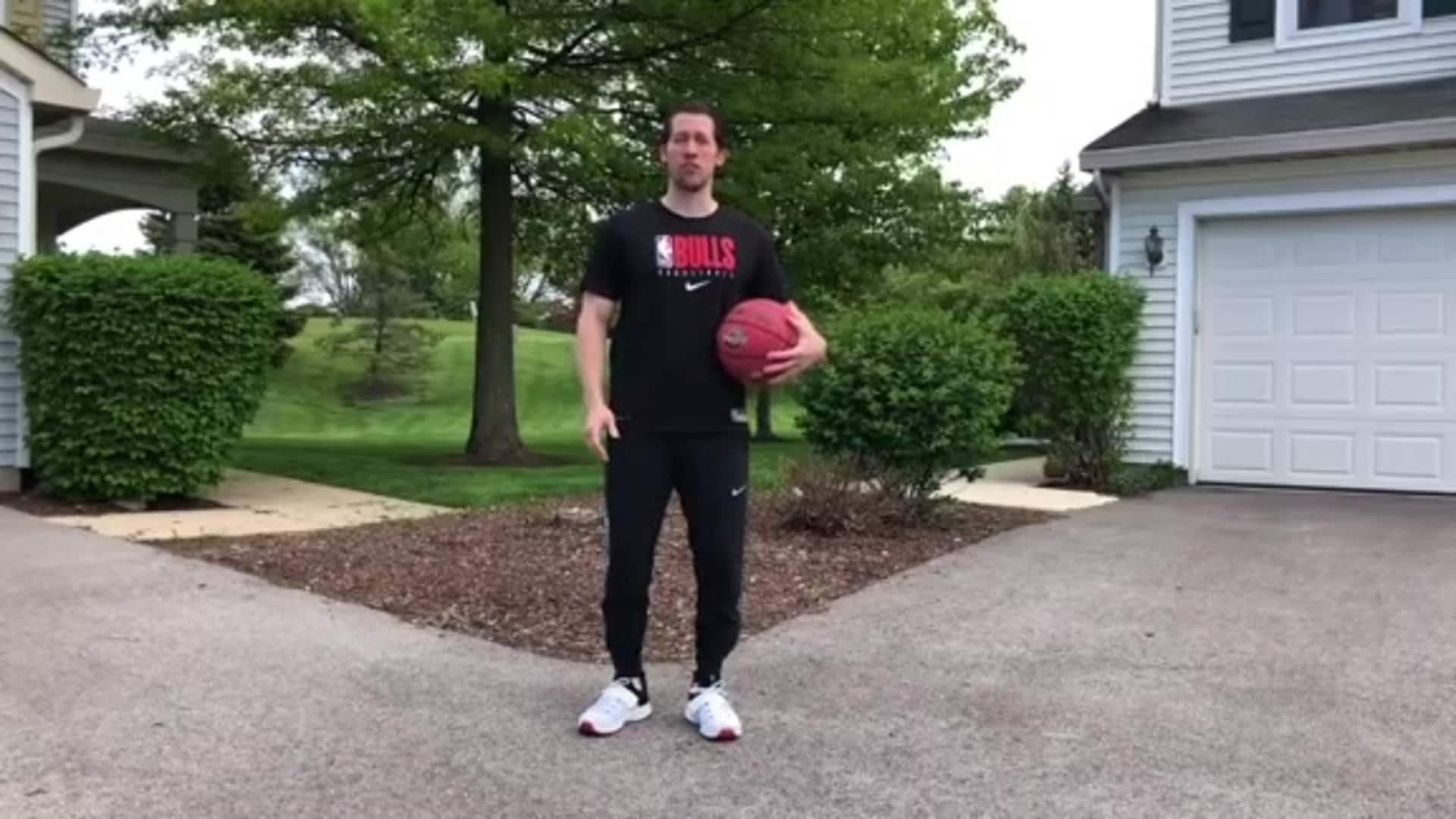 Youth Hoops Basketball Skills At Home: No Basket Shooting Workout