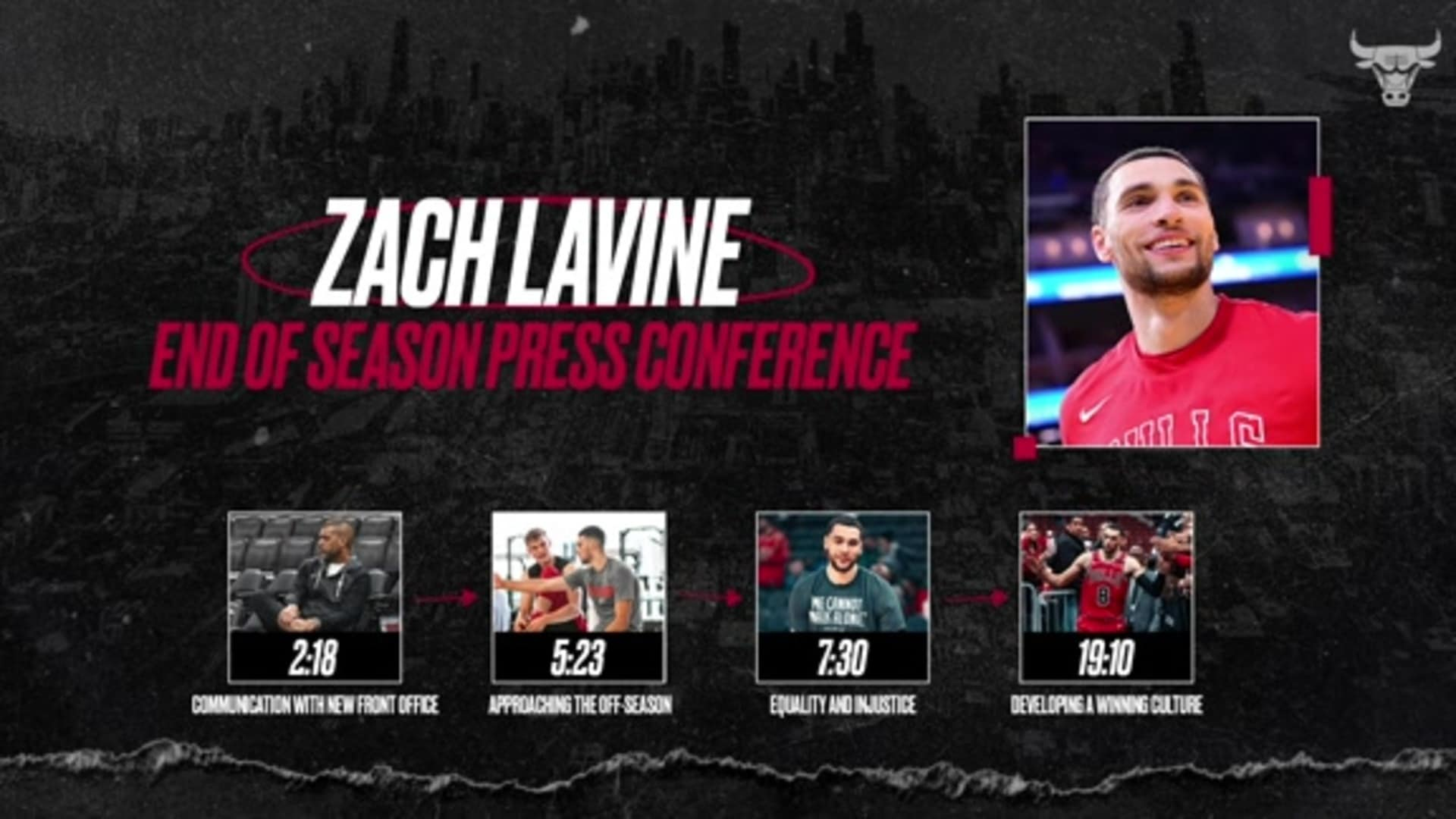 Zach LaVine End of Season Press Conference