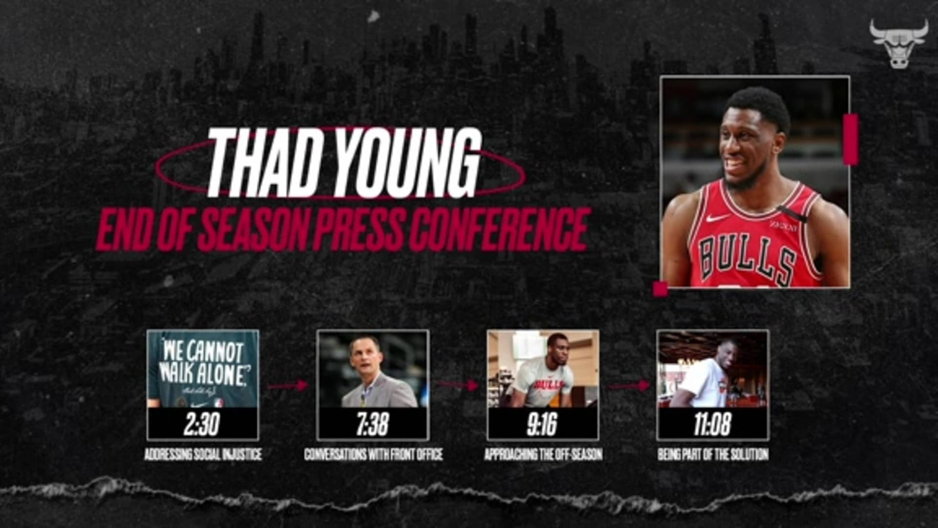 Thad Young End of Season Press Conference