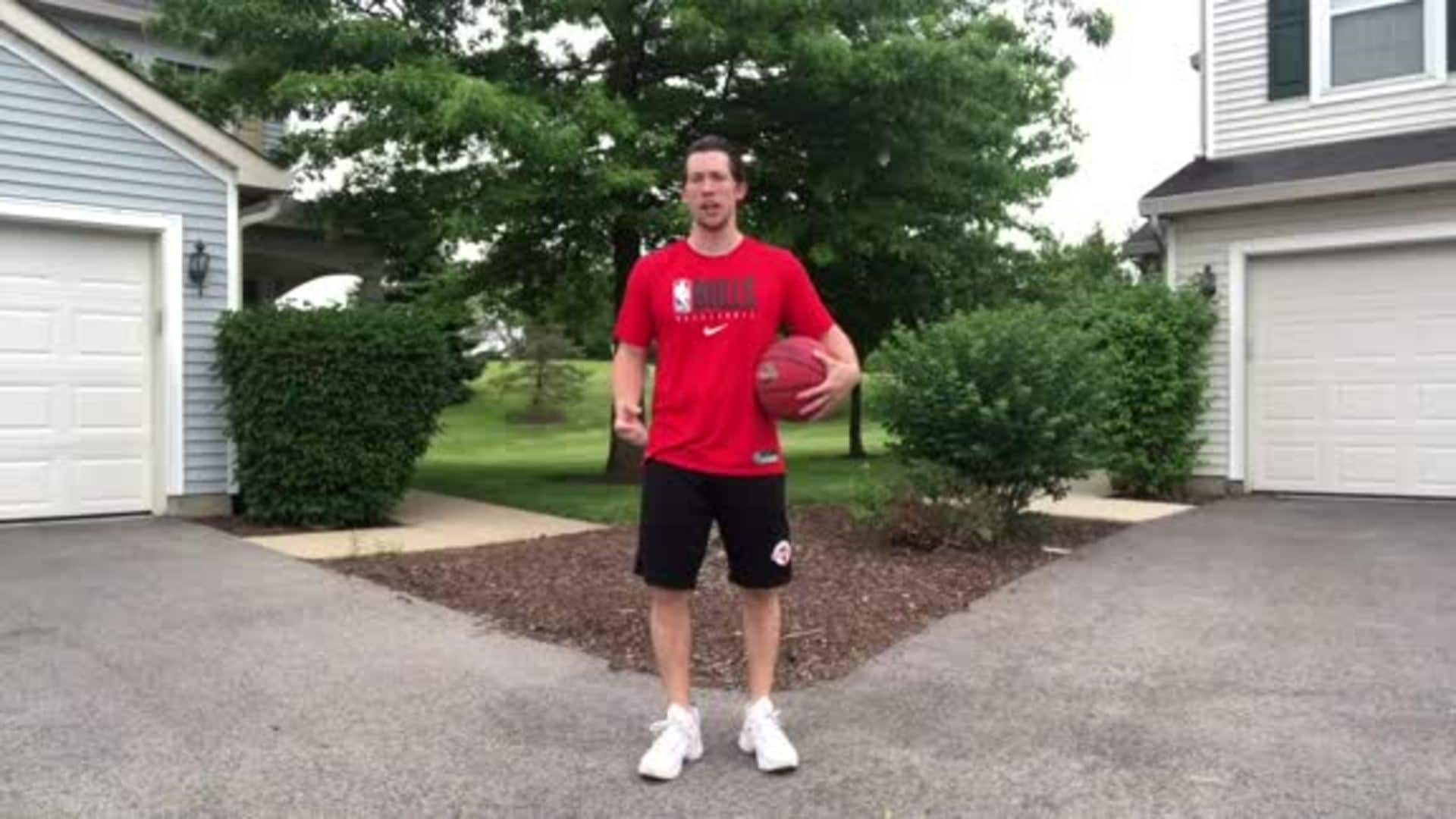 Youth Hoops Basketball Skills At Home: Crossover Progression Workout