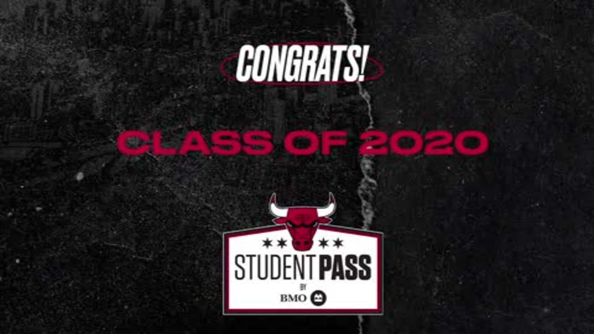 The Bulls and BMO Harris Bank Congratulate the Class of 2020!