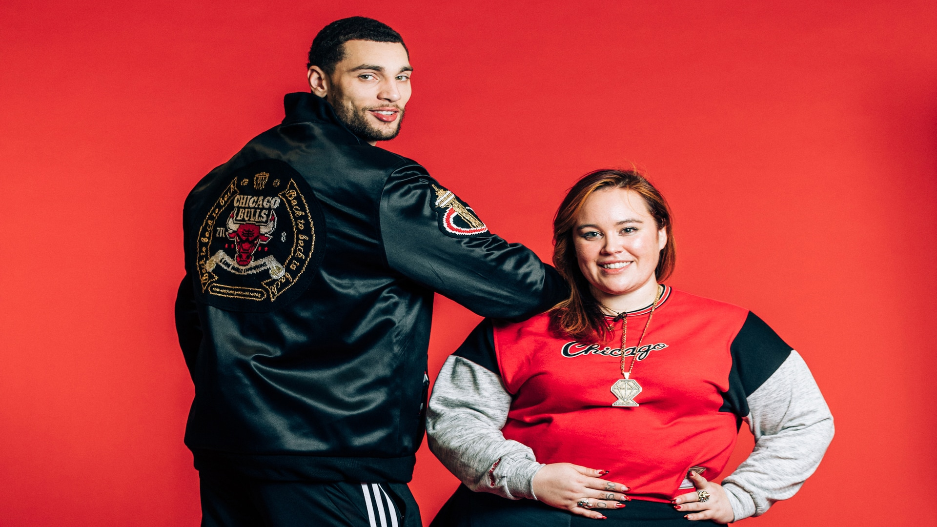 Zach LaVine's custom-made jacket is out of this world