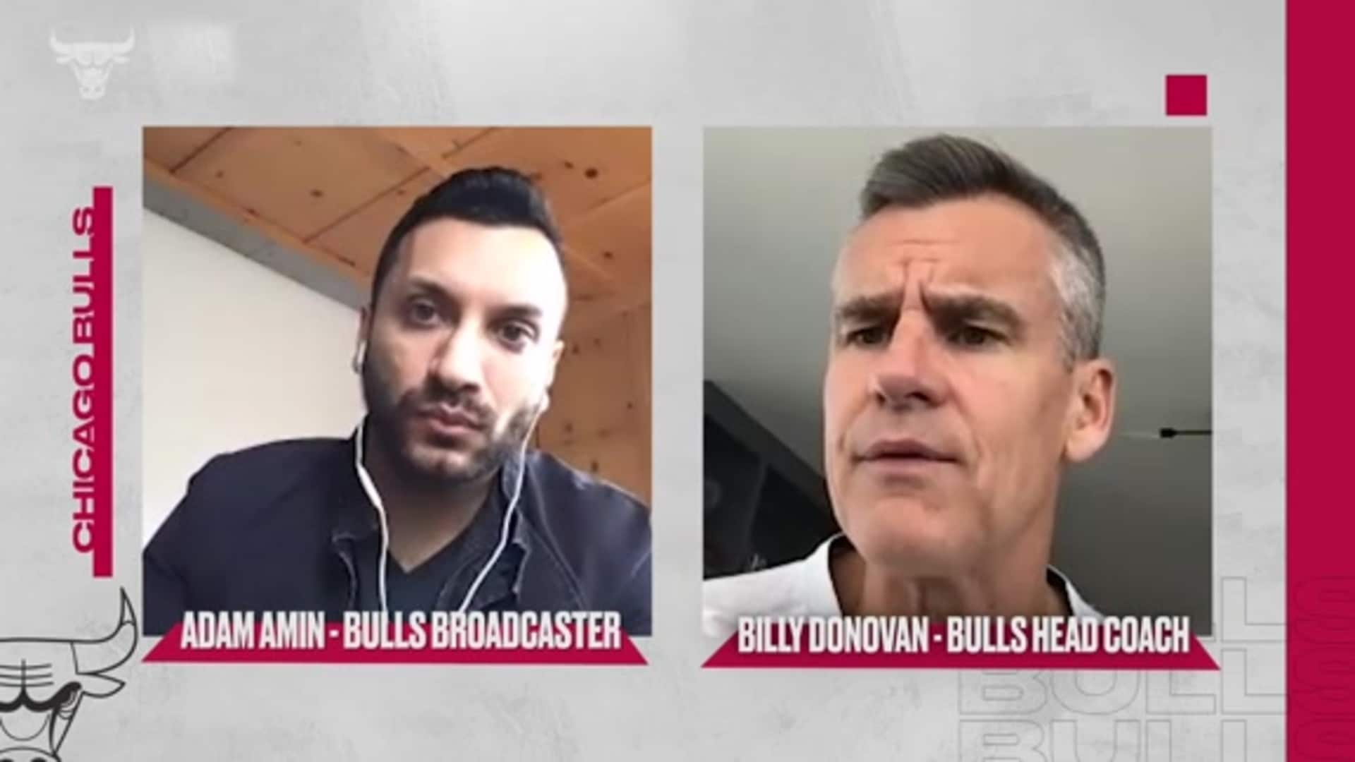 1-on-1 with Bulls head coach Billy Donovan