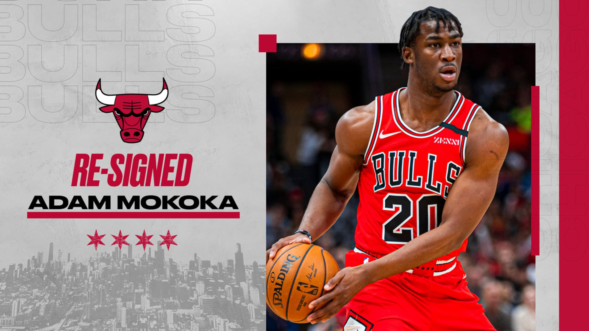 Two-Way Guard Adam Mokoka Returns for the 2020/2021 Season!