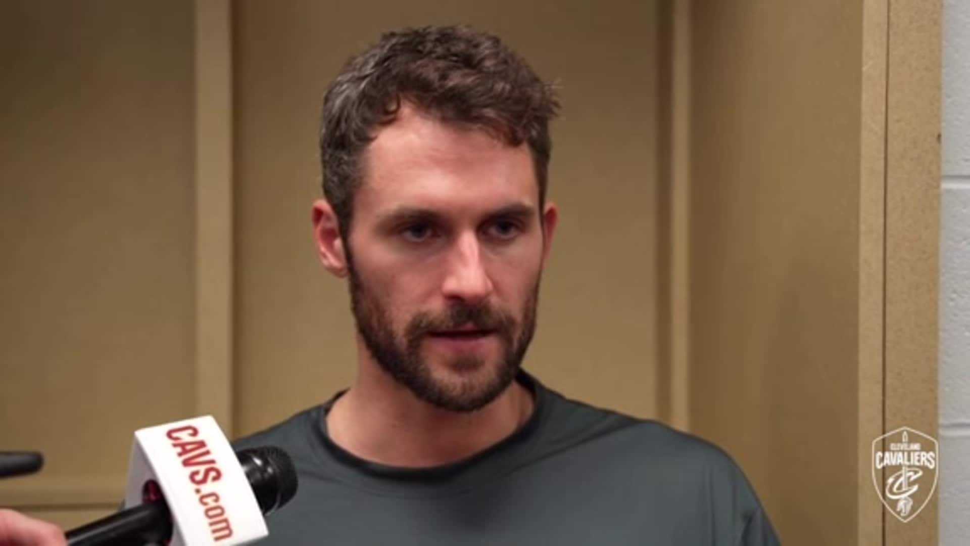 Cavs at Pacers Postgame: Kevin Love