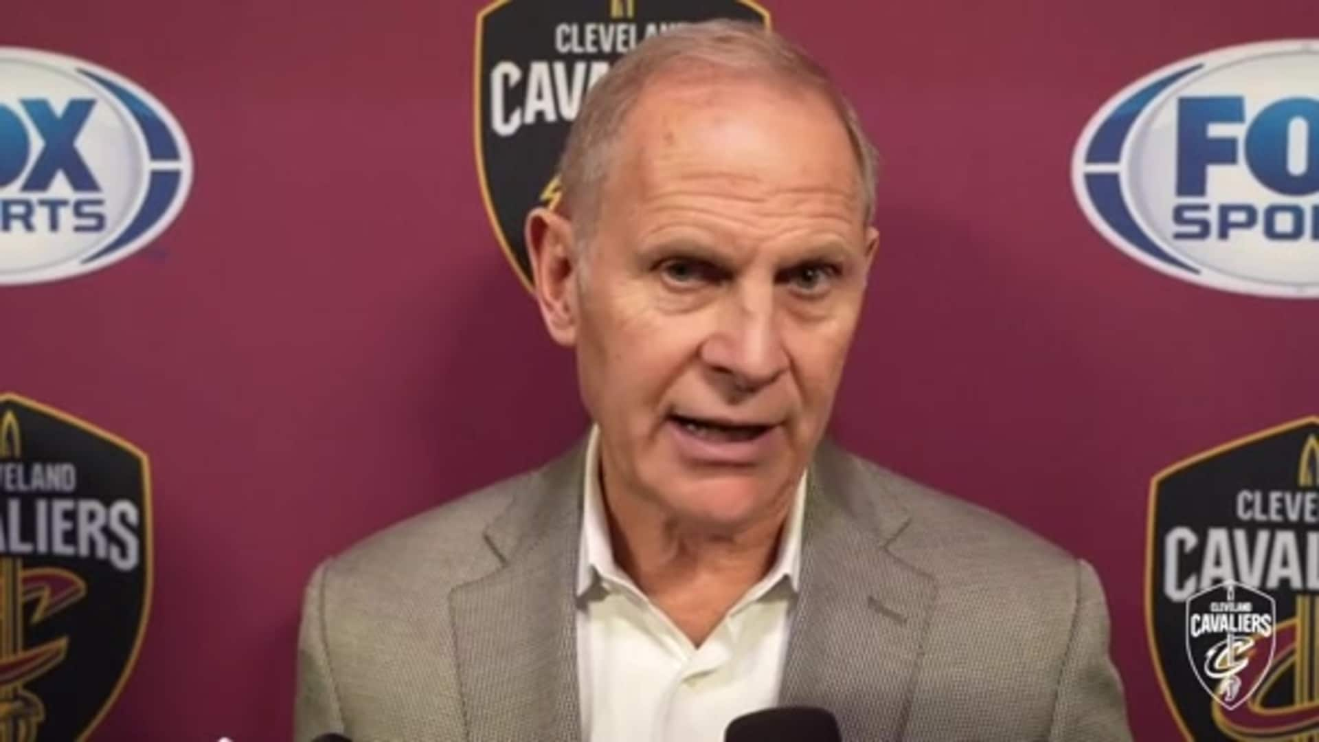 Cavs at Pacers Postgame: Coach Beilein