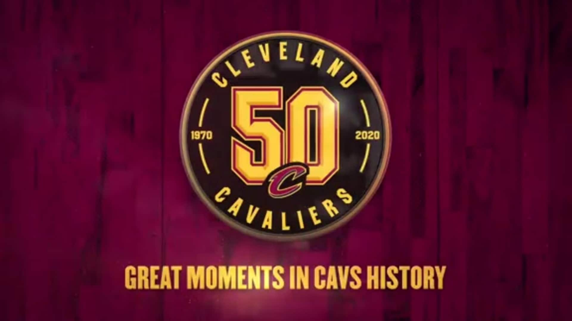 Great Moments in Cavs History: LBJ Scores 57