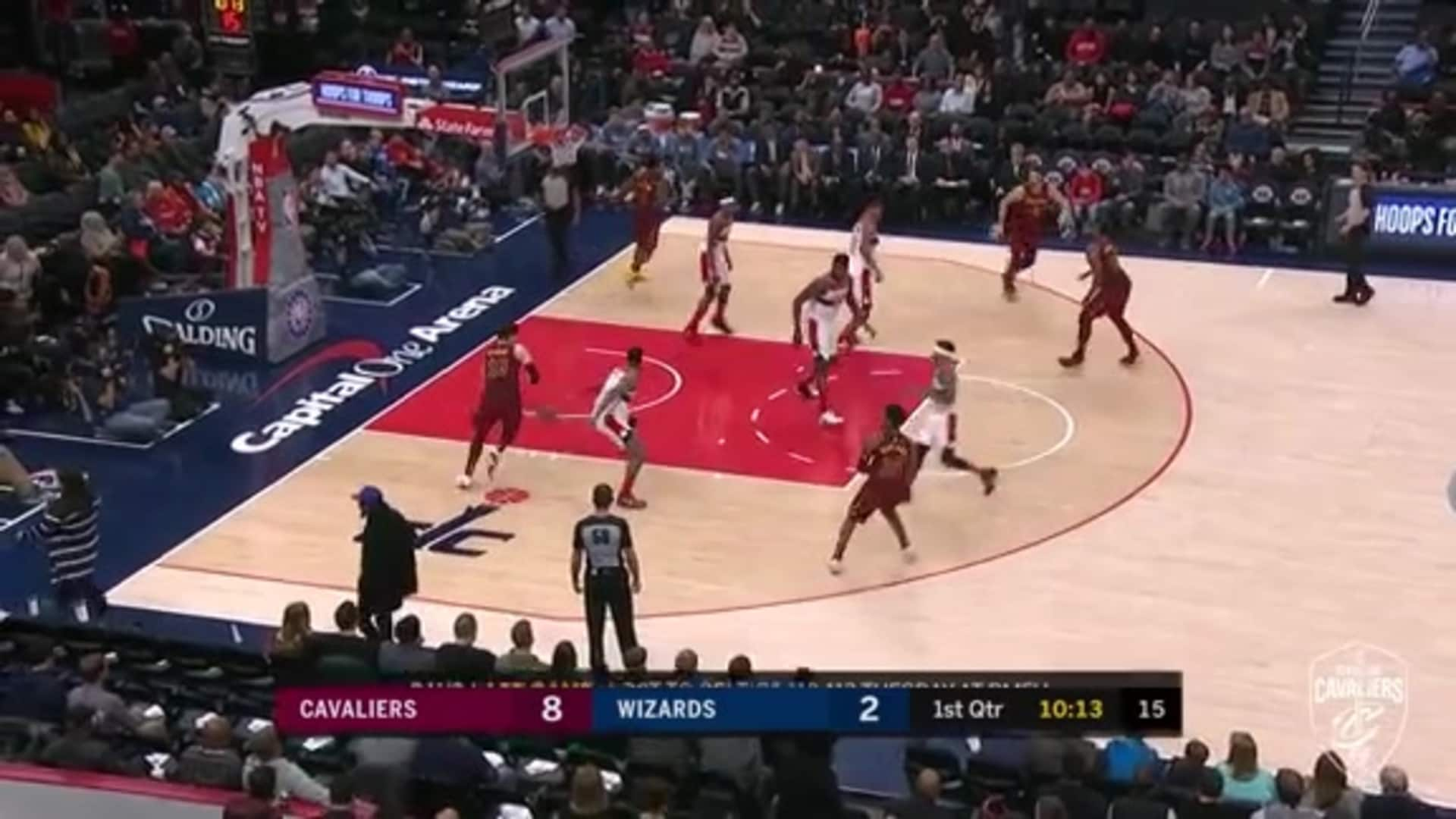 Garland Zips in the Assist to Cedi