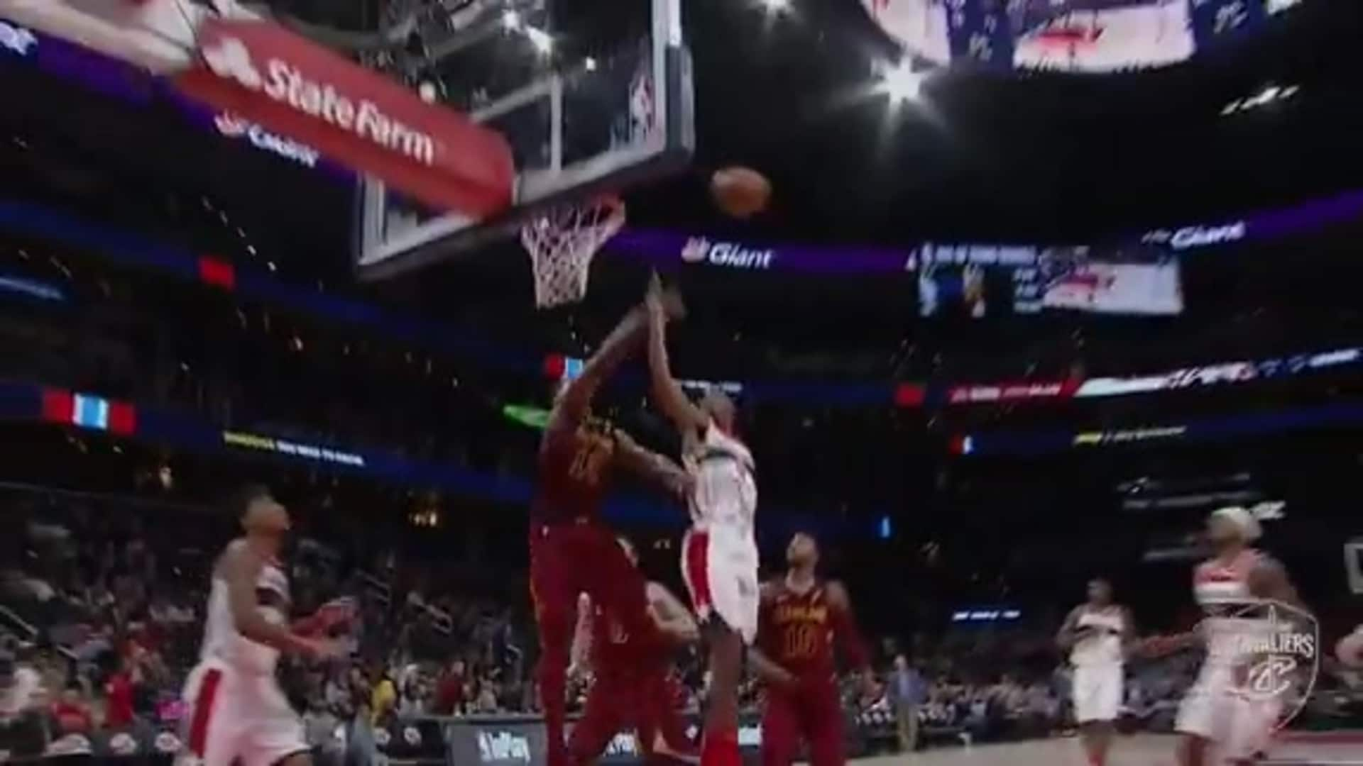 T-Top Sends the Wizards Shot Back