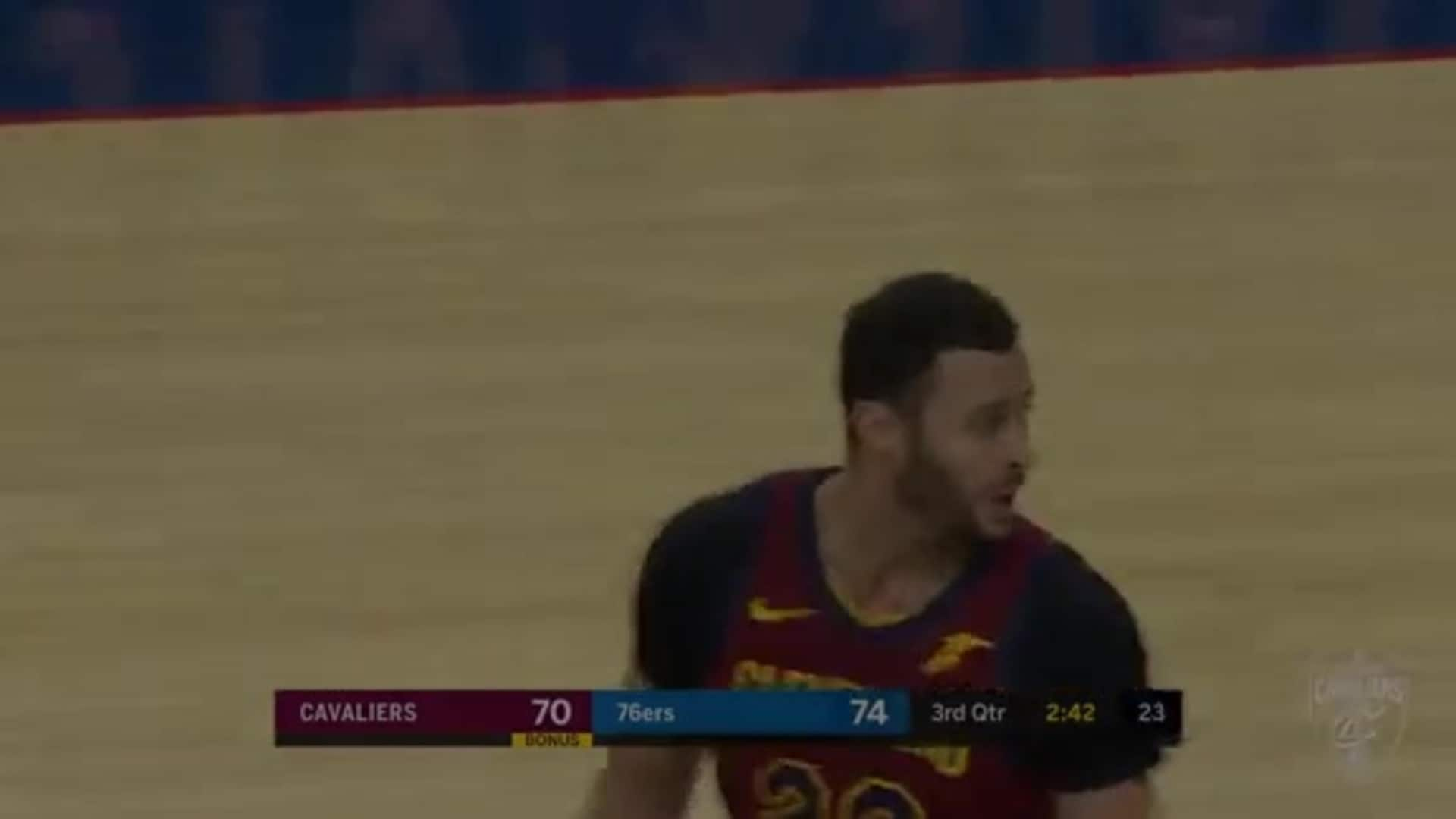 Larry Nance Jr. with the Putback Slam