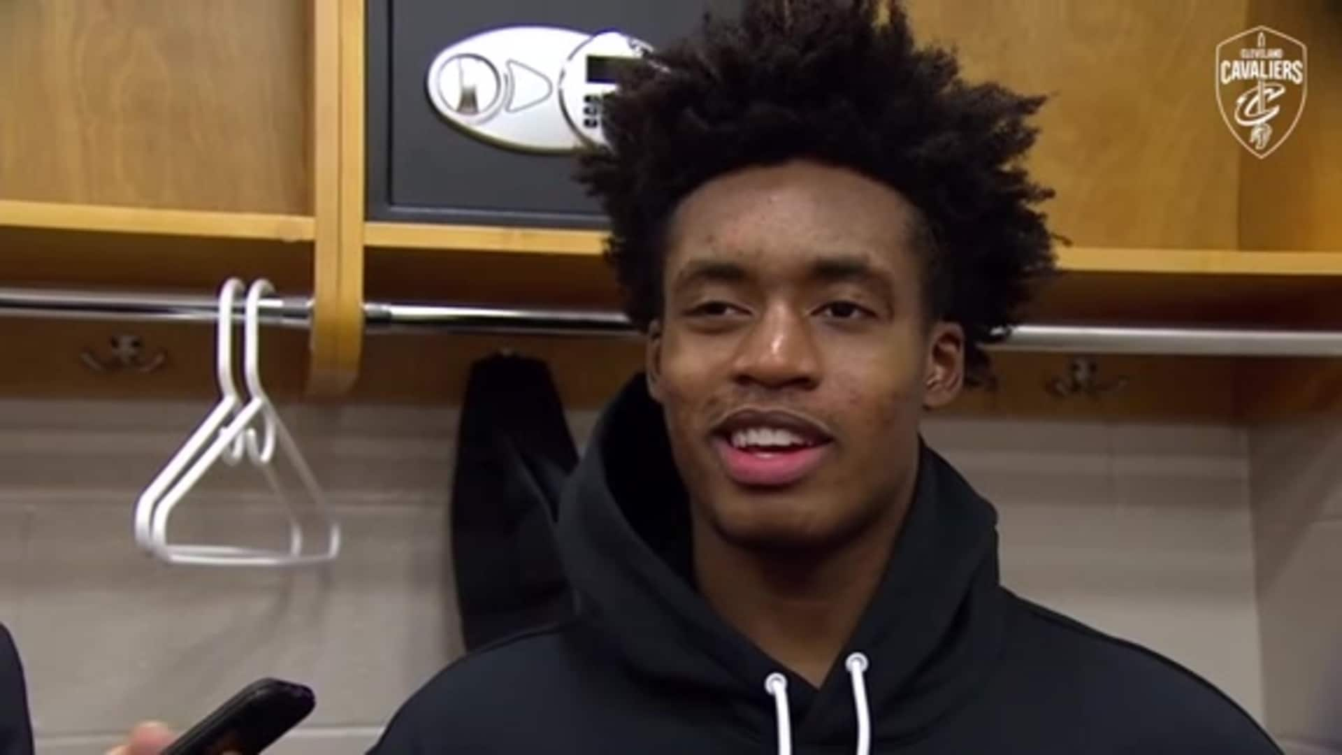 Cavs at Sixers Postgame: Collin Sexton