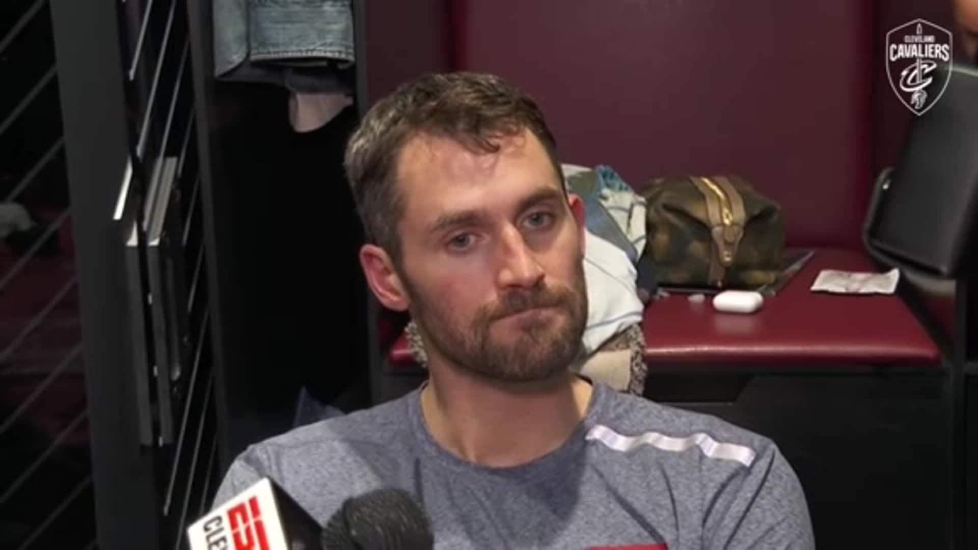 Cavs vs. Heat Postgame: Kevin Love