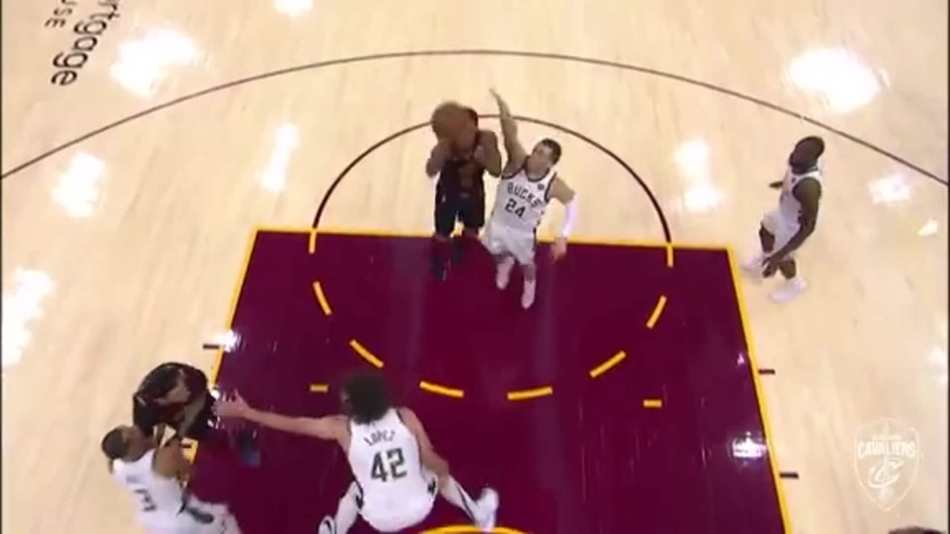 Clarkson Earns the And-One Following Athletic Bucket
