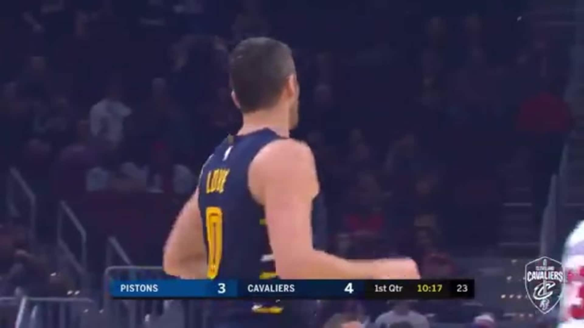 KLove Gets the Cavs Off and Running