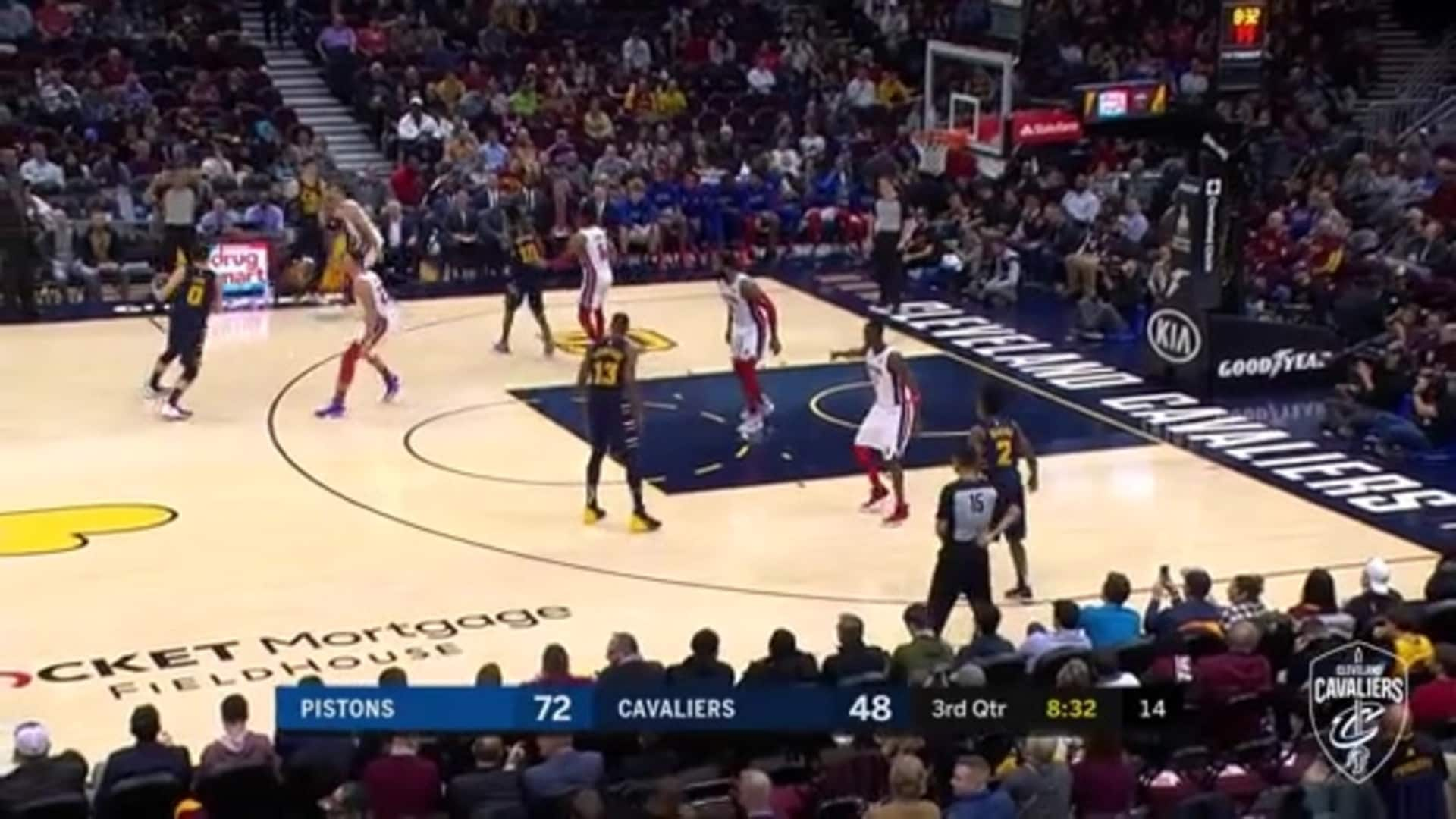 Love Finds a Cutting Osman Who Finishes with a Reverse Lay-Up