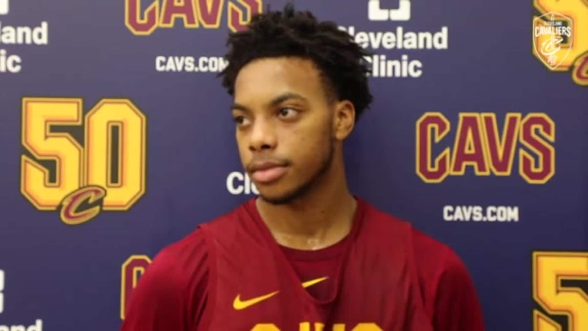 Cavs vs. Magic Practice: Darius Garland
