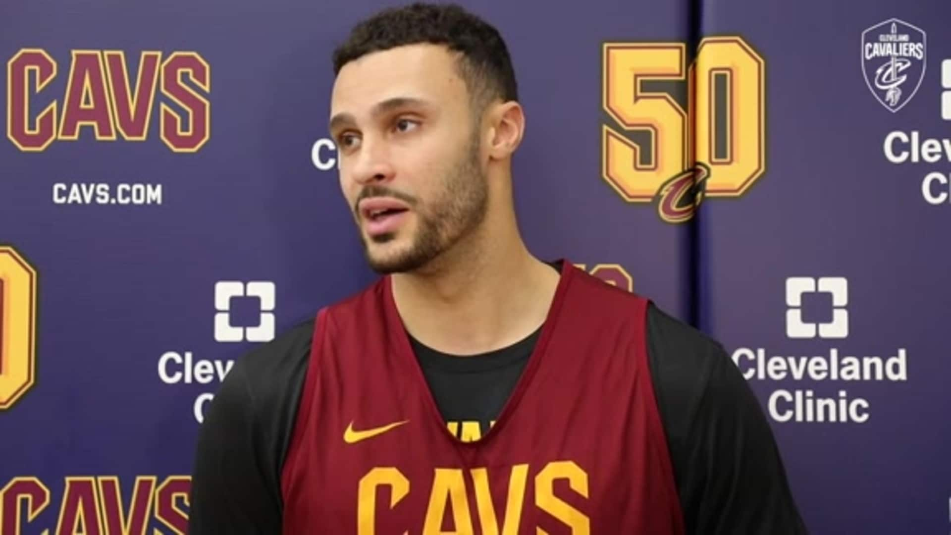 Cavs vs. Magic Shootaround: Larry Nance Jr.