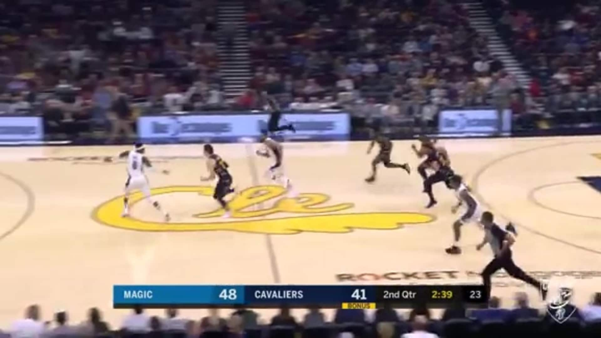 Osman, Sexton Run the Floor in Transition, Collin Finishes Play