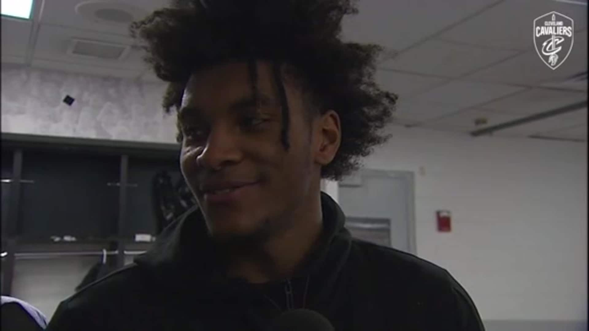 Cavs at Celtics Postgame: Kevin Porter Jr.
