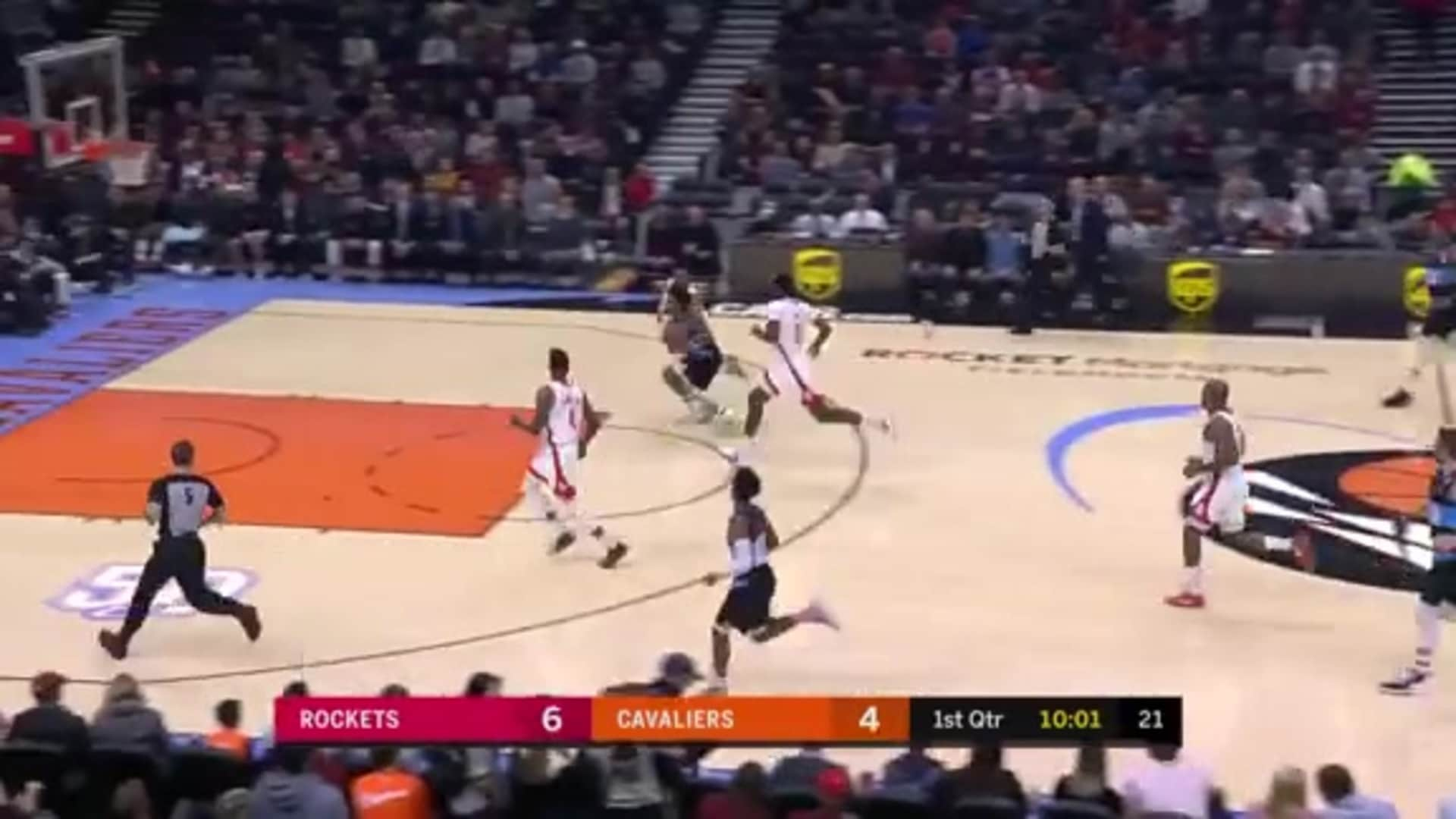 Osman Block Leads to Sexton Lay-Up