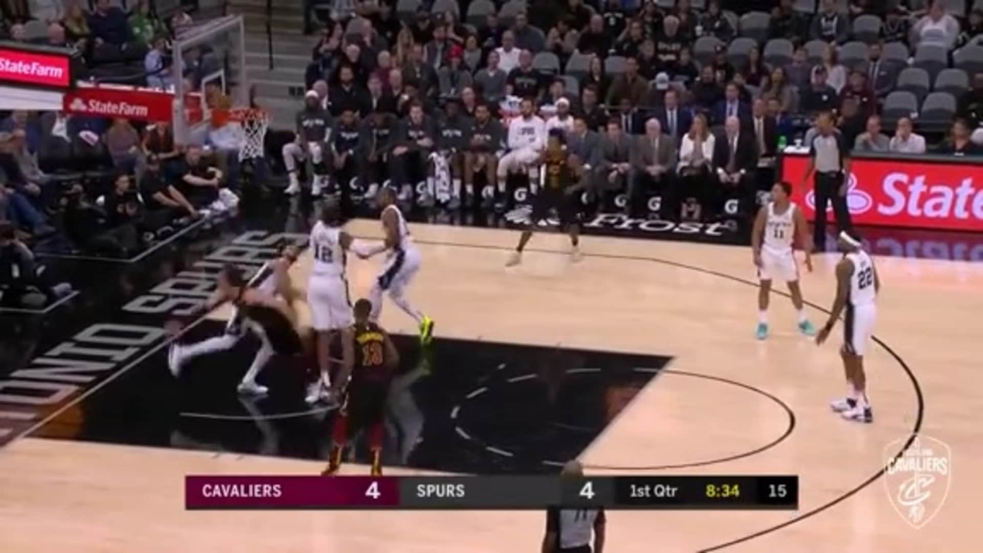 Cedi Goes Inside-Out for the Tough Two