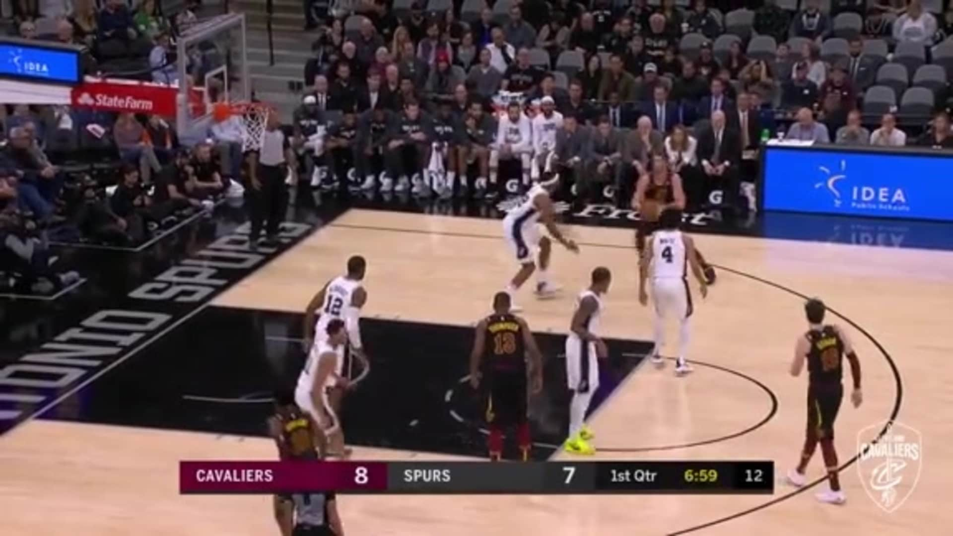 KLove with the Fancy Footwork