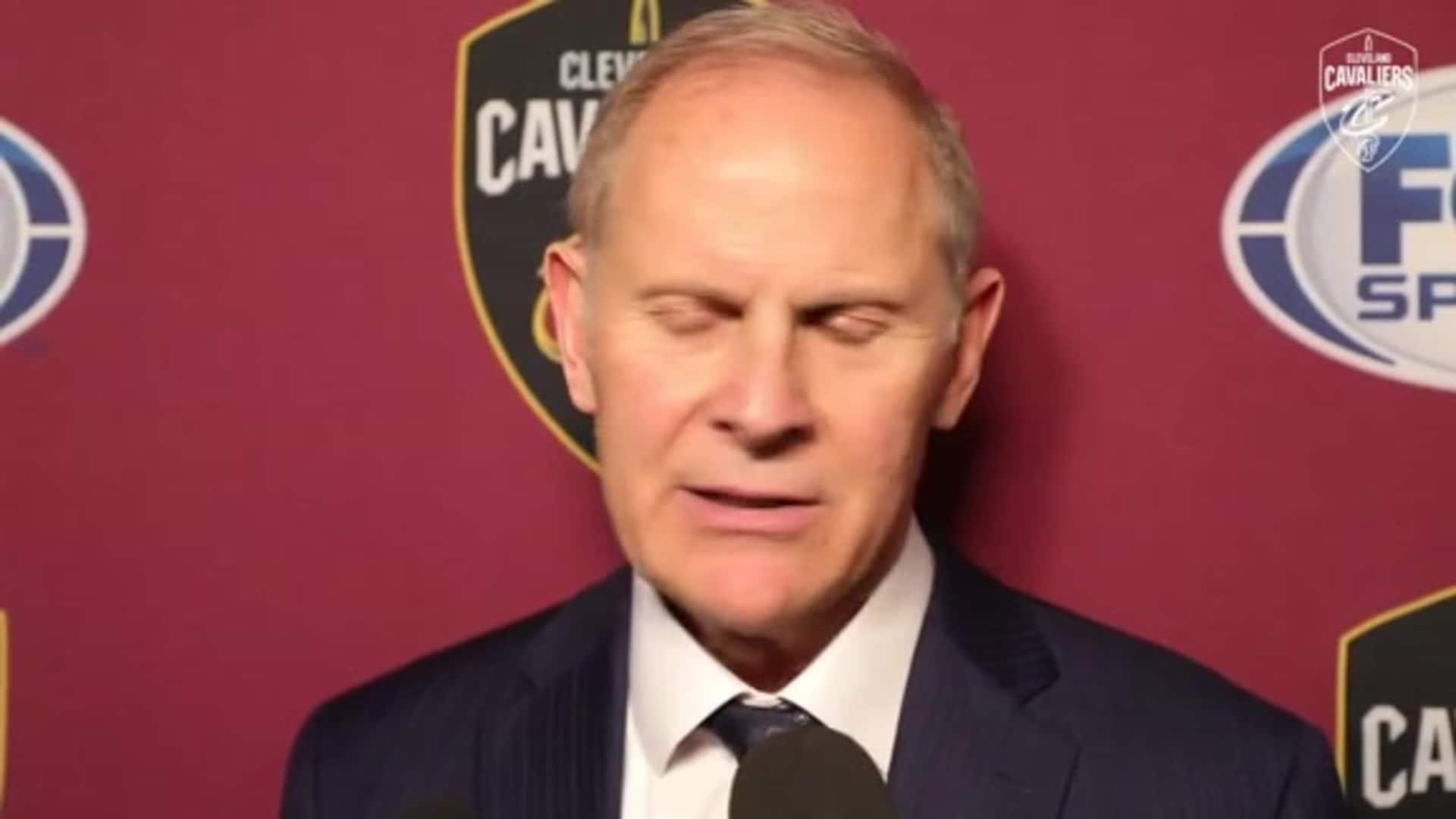 Cavs at Spurs Postgame: Coach Beilein