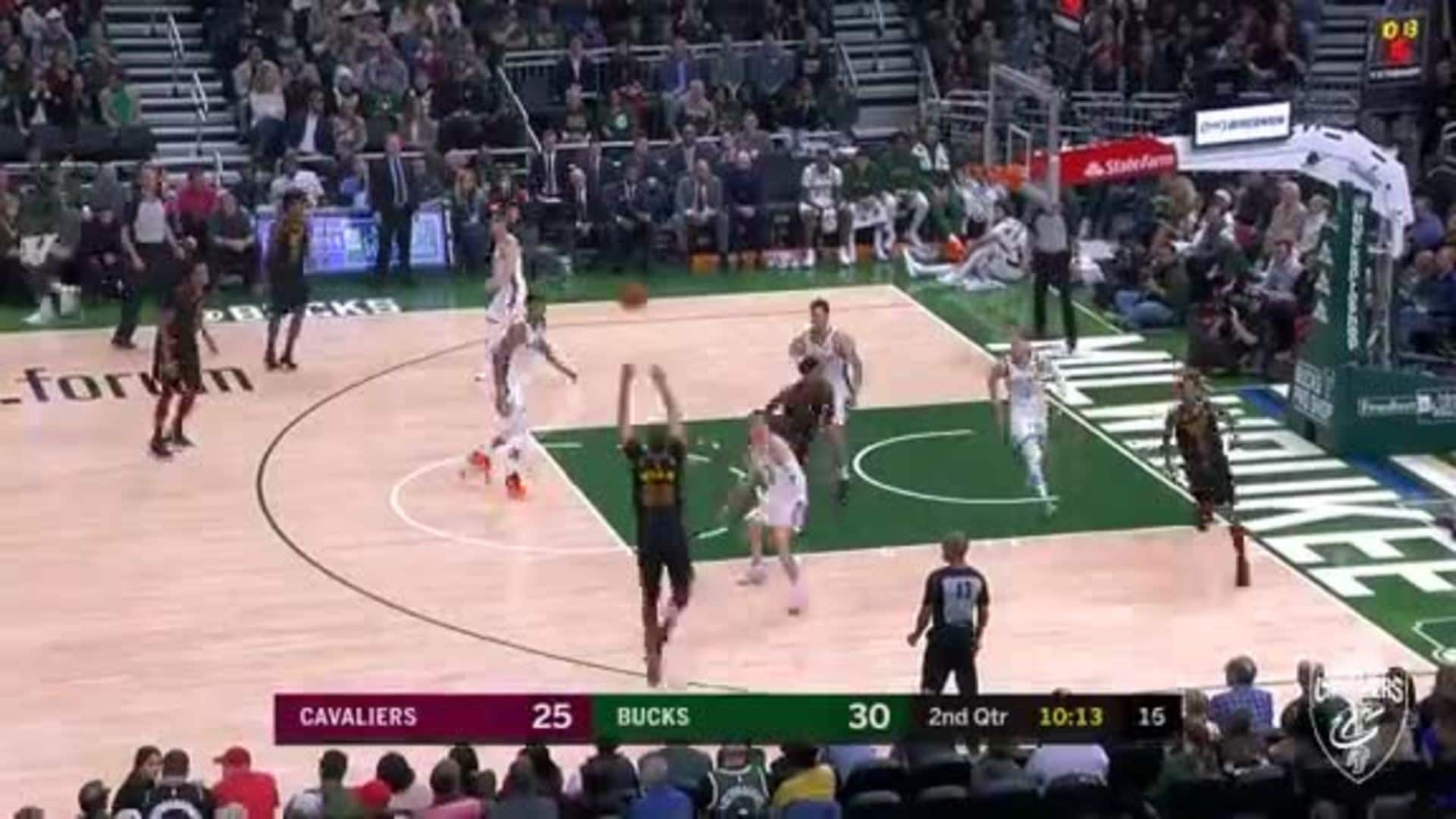 Garland from Deep in the Fiserv Forum