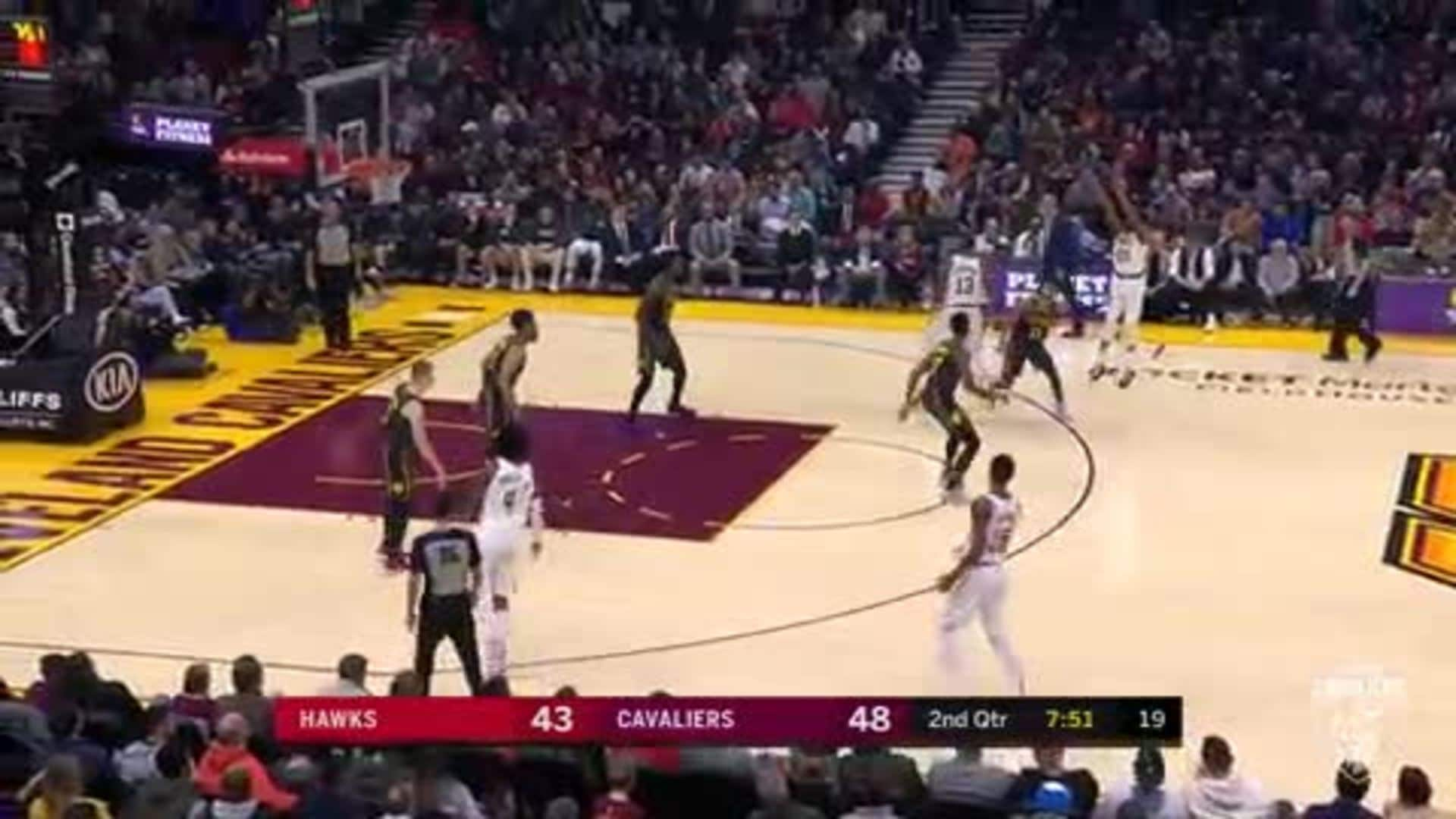 Brandon Knight with the Spot-Up Three