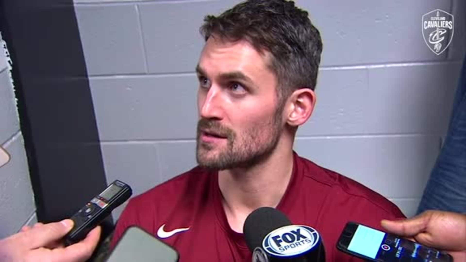 Cavs at Celtics Postgame: Kevin Love