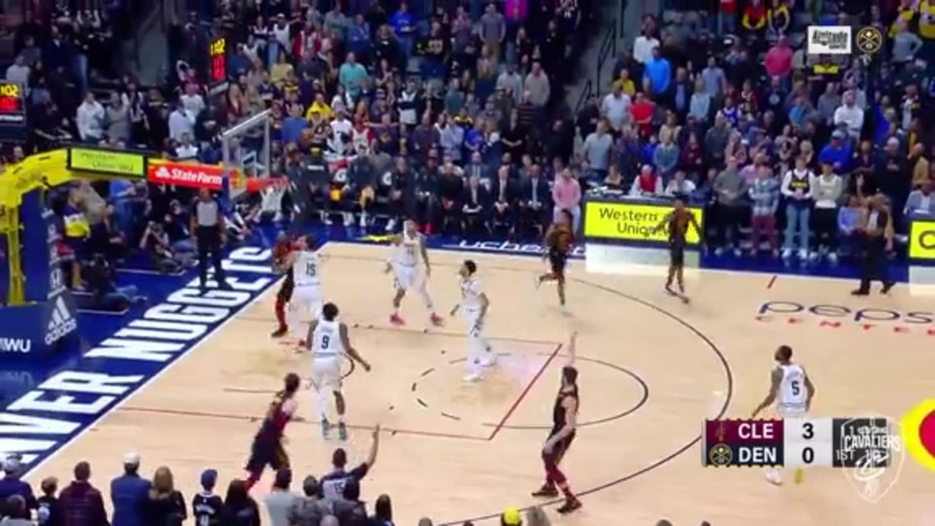 Cavs Roll Right Off the Tip