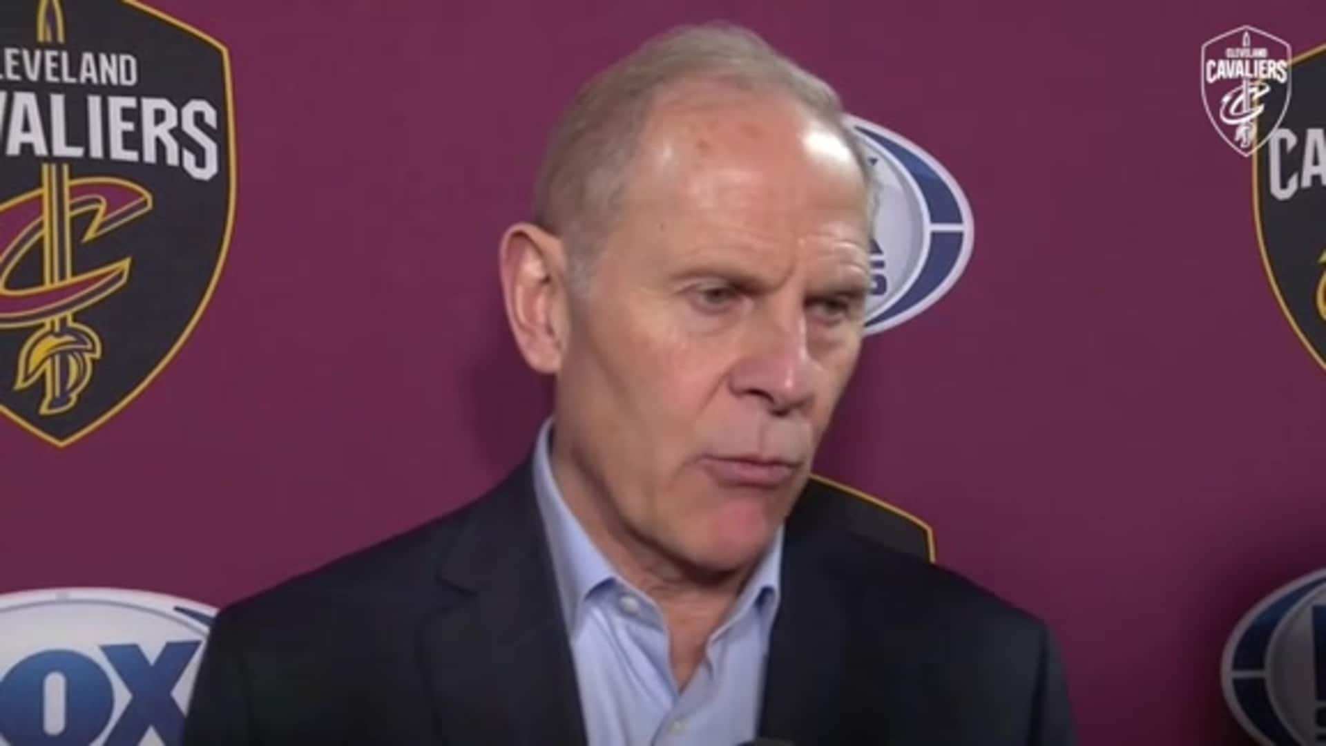 Cavs at Clippers Postgame: Coach Beilein