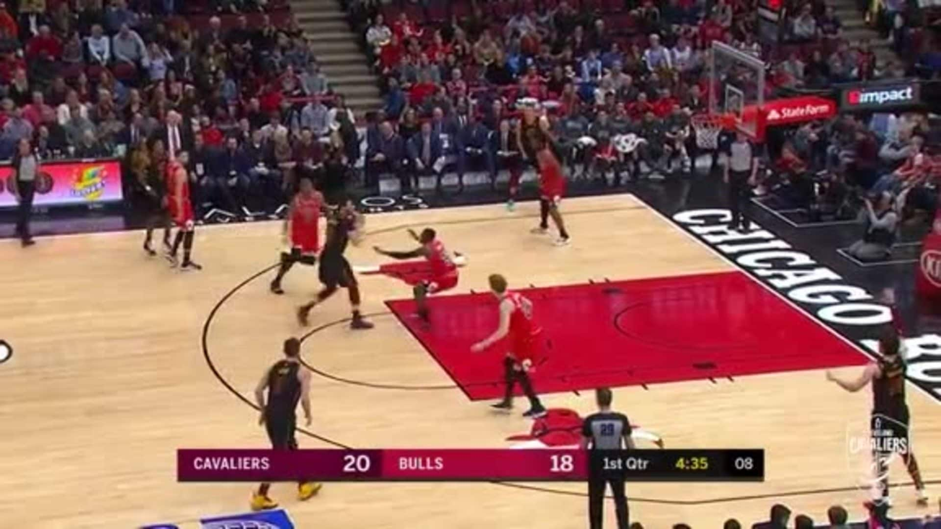 Nance Finds Cedi Three with Pinpoint Pass